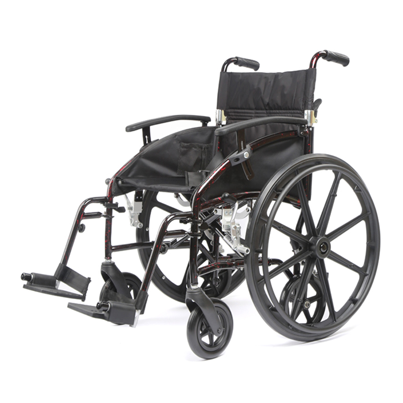 Lightweight wheelchair,Transporter-aluminum  wheelchair,Transport chair 2 in 1